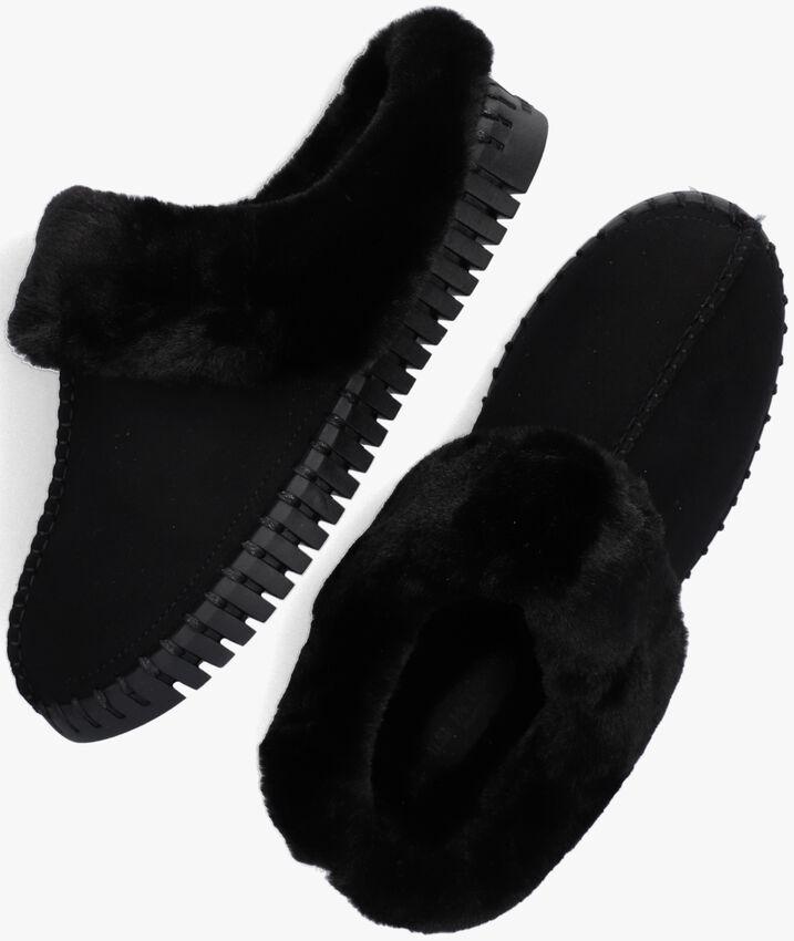 Zwarte ILSE JACOBSEN Pantoffels TULIP3871  - larger
