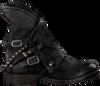 Zwarte A.S.98 Biker boots 207235 SOLE. VERTI OUD FW17 - small