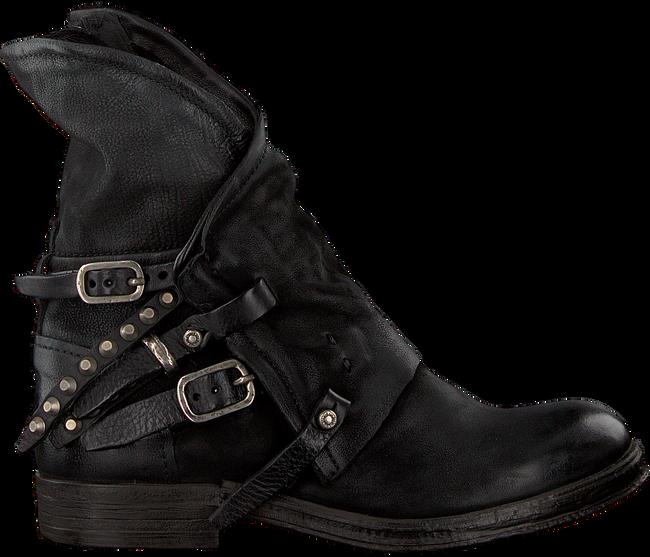 Zwarte A.S.98 Biker boots 207235 SOLE. VERTI OUD FW17 - large