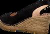 Zwarte FRED DE LA BRETONIERE Espadrilles 153010051  - small