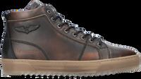 Bruine PME Hoge sneaker TITON  - medium