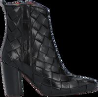 Zwarte NOTRE-V Enkellaarsjes 09B-202  - medium