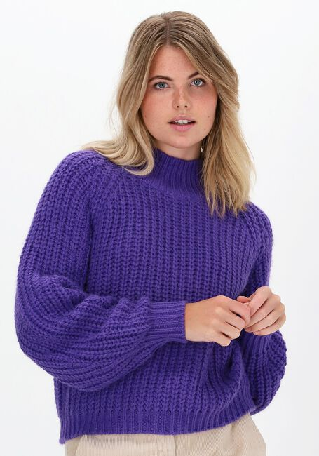 Paarse Y.A.S. Coltrui YASULTRA LS HIGH NECK KNIT PUL  - large