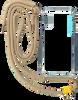 Beige KASCHA-C Telefoonkoord PHONECORD IPHONE X/XS  - small