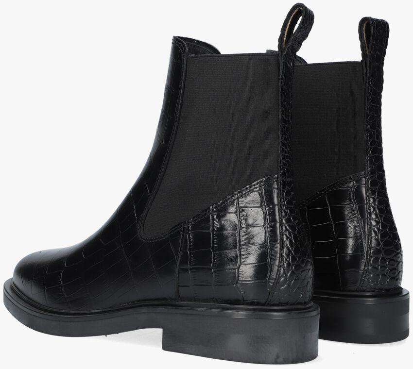 Zwarte SCOTCH & SODA Chelsea boots HAILEY BOOT  - larger