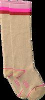 Bruine LE BIG Sokken TARYN KNEE HIGH  - medium