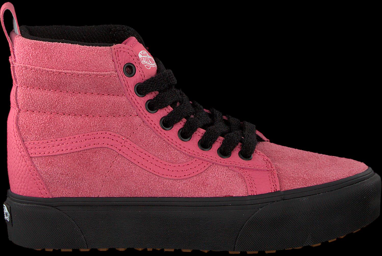vans roze platform