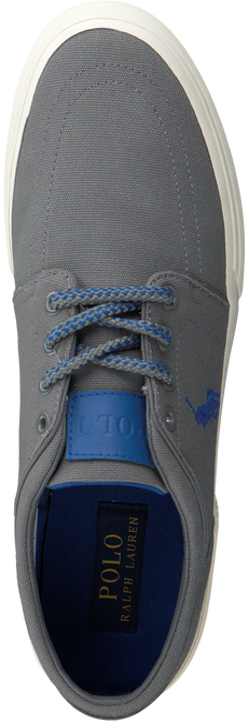 Grijze POLO RALPH LAUREN Sneakers FAXON LOW-NE  - large