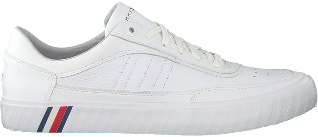 Witte TOMMY HILFIGER Lage sneakers CORPORATE PREMIUM  - large