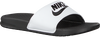 Witte NIKE Slippers BENASSI JDI MEN  - small