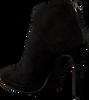 Zwarte LOLA CRUZ Enkellaarsjes 175T30BK-I18 - small