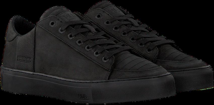 Zwarte HUB Lage sneakers TOURNAMENT-M  - larger