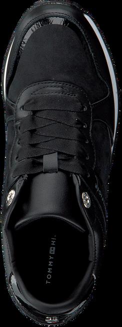 Zwarte TOMMY HILFIGER Lage sneakers DRESSY WEDGE  - large