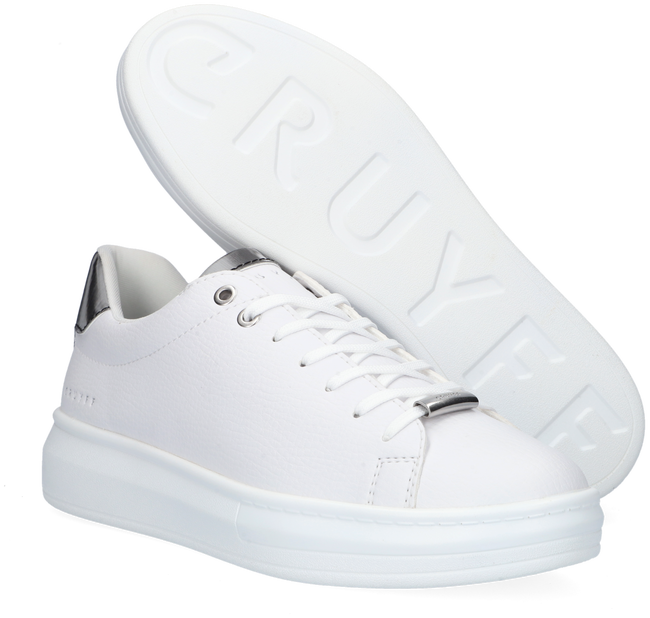 Witte CRUYFF CLASSICS Lage sneakers PACE  - large