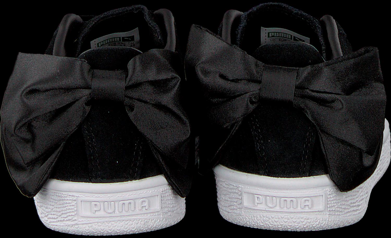 Zwarte PUMA Sneakers SUEDE BOW WOMEN - Omoda.nl 9c93f207f