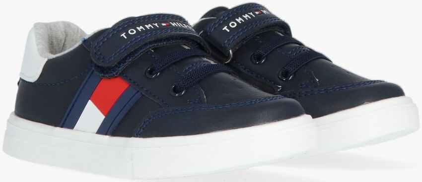 Blauwe TOMMY HILFIGER Lage sneakers 30702  - larger