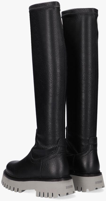 Zwarte BRONX Hoge laarzen GROOV-Y HIGH STRETCH  - larger