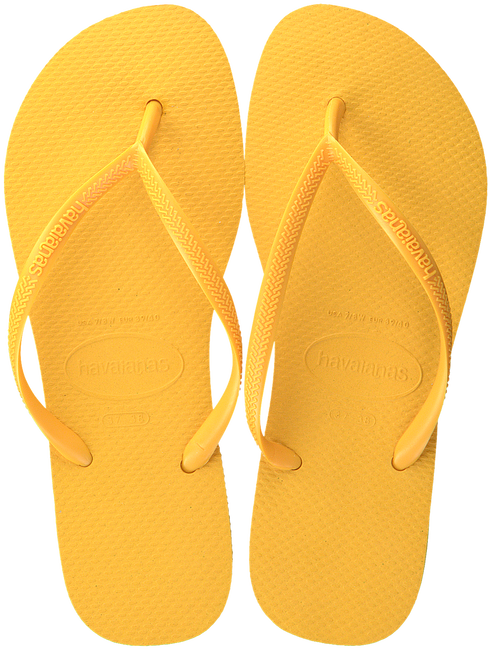 Gele HAVAIANAS Slippers SLIM WOMEN  - large