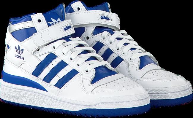 Witte ADIDAS Sneakers FORUM MID J  - large