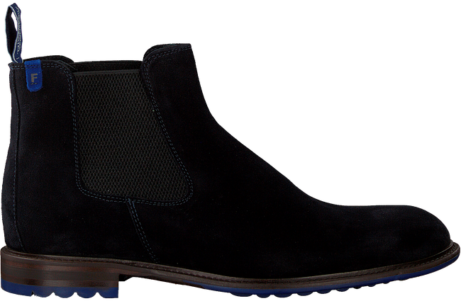 Blauwe FLORIS VAN BOMMEL Chelsea boots 10902  - large