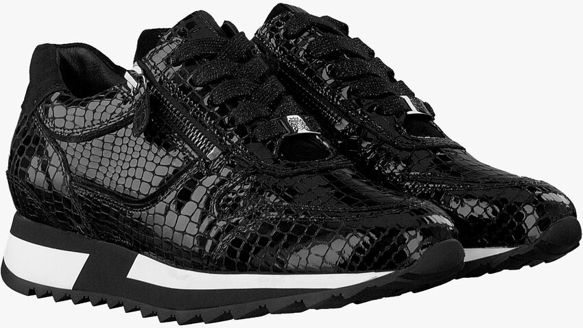 Zwarte HASSIA Lage sneakers MADRID  - larger