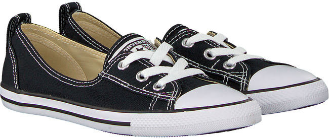 Zwarte CONVERSE Sneakers CHUCK TAYLOR BALLET LACE - large