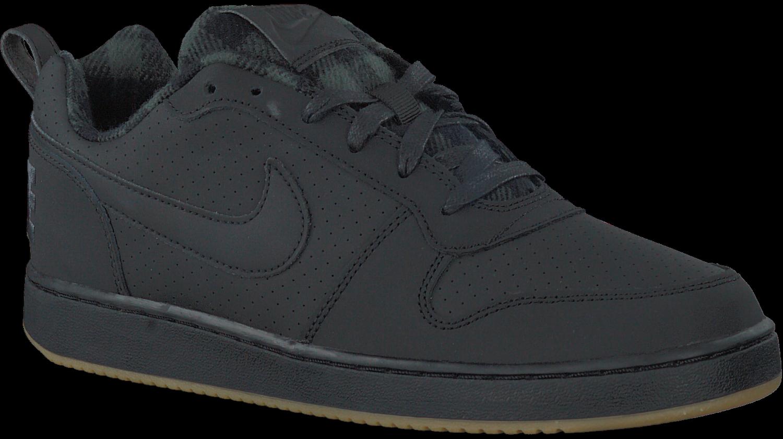 Zwarte NIKE Sneakers COURT BOROUGH LOW PREM | Omoda
