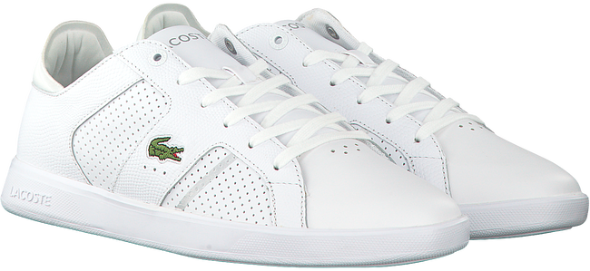 Witte LACOSTE Sneakers NOVAS CT 118  - large