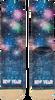 Zwarte XPOOOS Sokken XMAS HAPPY NEW YEAR 80'S - small