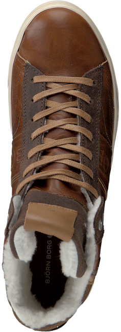 Cognac BJORN BORG Sneakers KANSAS HIGH  - large