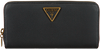 Zwarte GUESS Portemonnee DESTINY SLG LARGE ZIP AROUND  - small