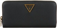 Zwarte GUESS Portemonnee DESTINY SLG LARGE ZIP AROUND  - medium