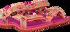 Roze TEVA Sandalen HURRICANE 3 KIDS - small