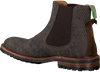 Grijze FLORIS VAN BOMMEL Chelsea boots 20093  - small