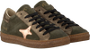 Groene AMA BRAND DELUXE Sneakers AMA-B/DELUXE DAMES  - small