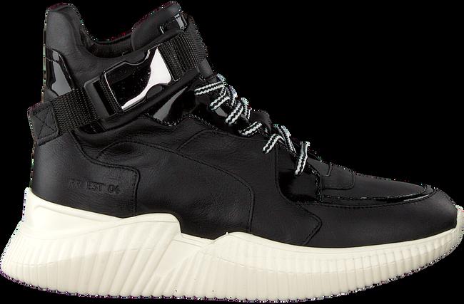 Zwarte RED-RAG Sneakers 71136  - large