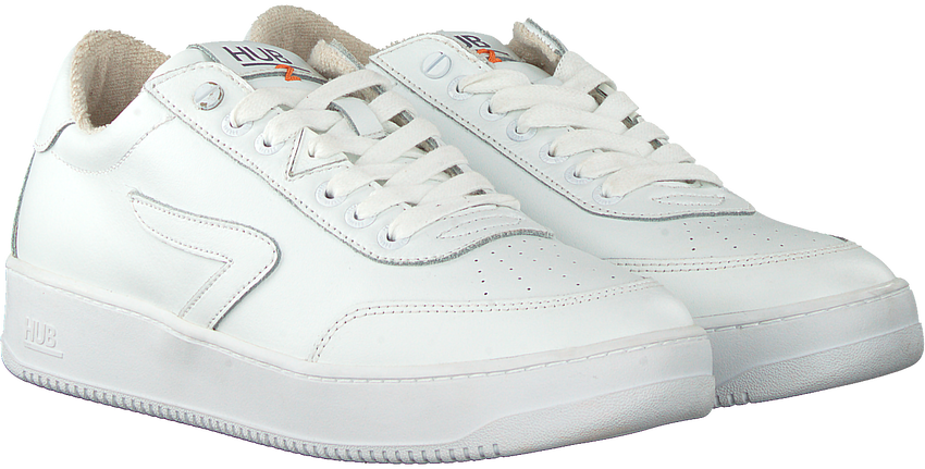 Witte HUB Lage sneakers BASELINE-M  - larger