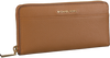 Cognac MICHAEL KORS Portemonnee POCKET ZA - small