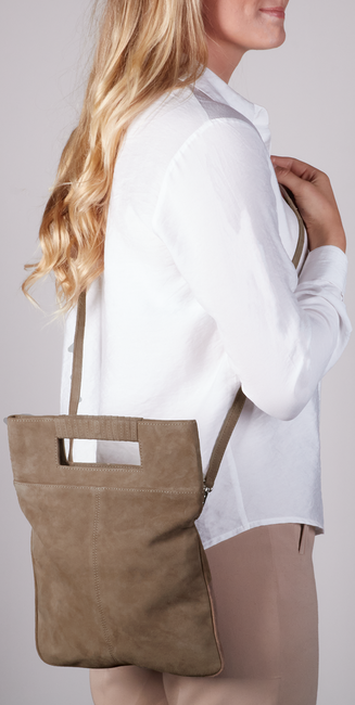 Taupe UNISA Clutch ZKAY  - large