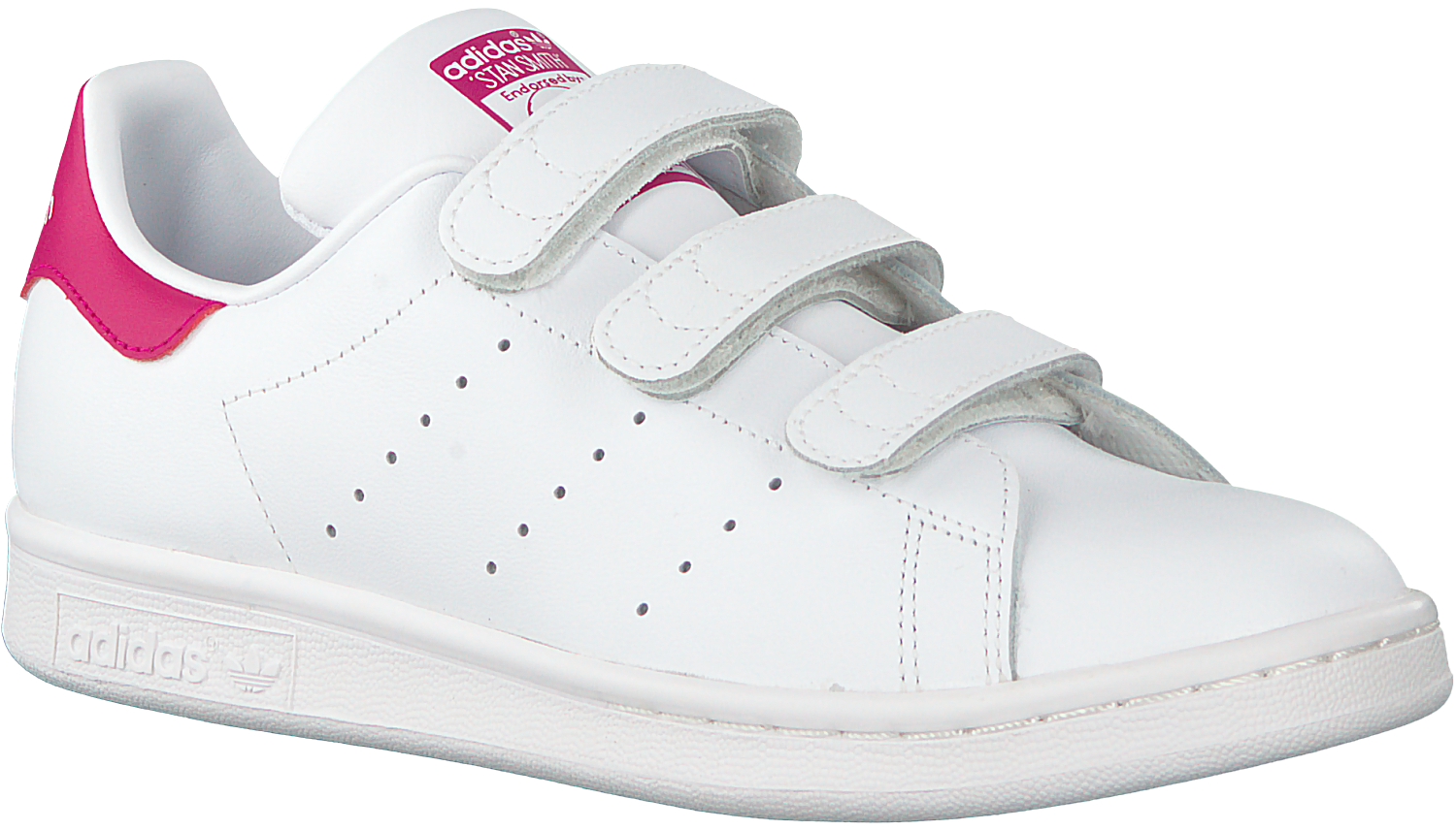Witte Adidas Sneakers STAN SMITH CF J