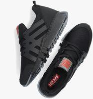 Zwarte RED-RAG Lage sneakers 13557  - medium