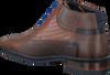 Cognac FLORIS VAN BOMMEL Nette schoenen 10879  - small