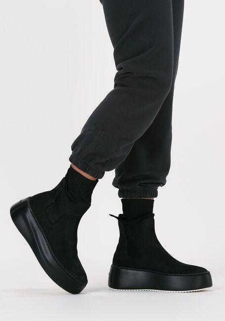 Zwarte VIC MATIE Hoge sneaker 1W3410D  - large