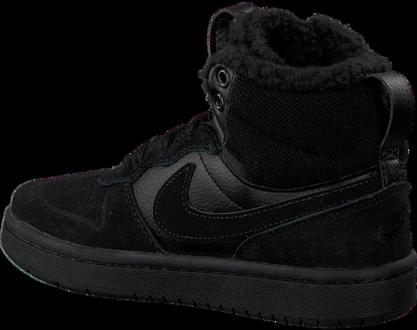 Zwarte NIKE Hoge sneaker COURT BOROUGH MID KIDS  - larger