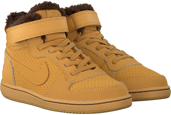 Camel NIKE Sneakers COURT BOROUGH MID (KIDS)  - large