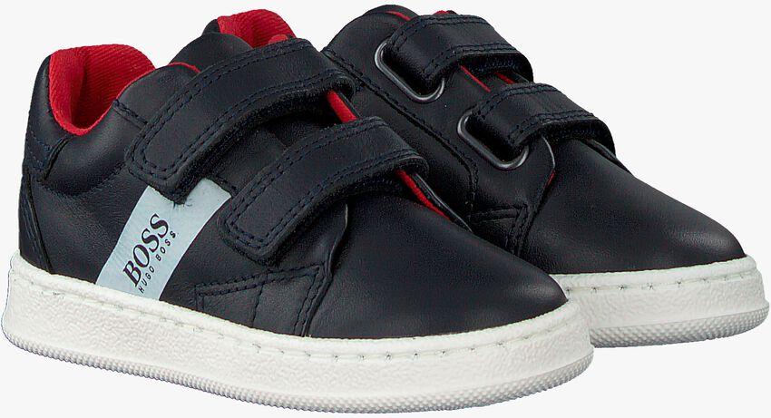 Blauwe BOSS KIDS Sneakers J09119  - larger
