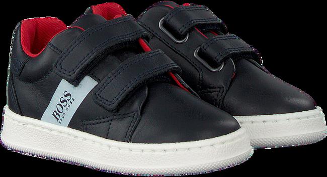 Blauwe BOSS KIDS Sneakers J09119  - large