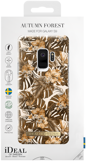 Bruine IDEAL OF SWEDEN Telefoonhoesje FASHION CASE GALAXY S9 - large