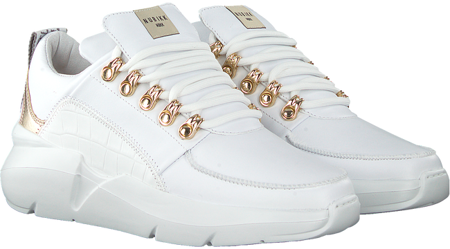Witte NUBIKK Lage sneakers LUCY ROYAL  - large