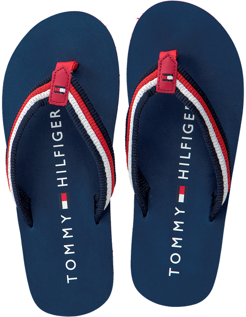 Blauwe TOMMY HILFIGER Slippers T3X0-00138  - large
